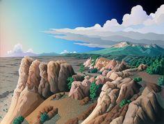 From Higher Ground, Doug West, art, landscape, southwest, desert