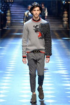 Dolce & Gabbana Fall/Winter 2017 Men's Collection
