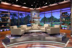 Golf Channel Studio The new studio was designed by