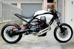 Moto Guzzi Diamond Griso | Don't usually care for Guzzi but this is very nice.