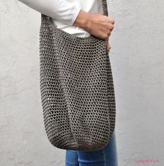 tas haken shopper haakpatroon Shopper, Purses And Bags, Ravelry, Free Crochet, Crochet Patterns, Shopping, Tutorials, Easy Knitting Patterns, Knitting And Crocheting