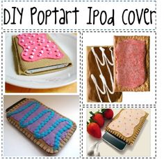 """""""DIY Poptart Ipod Cover"""" by saltwater-room on Polyvore"""