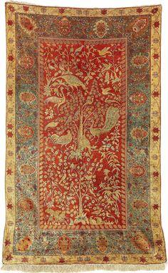 Wishful thinking.....Turkish Rugs: Hereke Silk Carpet Circa 1900