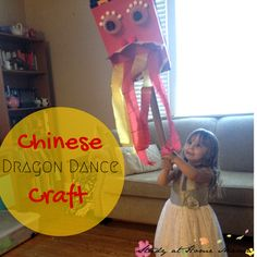 Chinese Dragon Dance Craft ⋆ Study at Home Mama