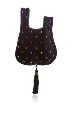Jeweled Velvet Tote by SONIA RYKIEL for Preorder on Moda Operandi Sonia  Rykiel, Tassels, 7905a2acb9