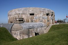 These 4 Massive Nazi-Built Bunkers Near Calais Are Both Frightning and Stunning