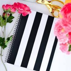 Why spend big bucks when you can get the gorgeous look for less? Craft these two gorgeous Kate Spade notebooks today!