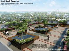 Torre de Manila: Roof deck Garden