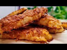ΠΙΤΣΙΝΙΑ-Κριτσινια της Γκολφως σε 3 λεπτά έχετε λαχταριστα τυρενια πιτσινια η σησαμενια - YouTube Chicken Wings, Food And Drink, Pizza, Meat, Cooking, Kitchen, Brewing, Cuisine, Cook