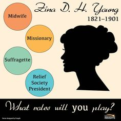 During the nineteenth century, Zina D. H. Young represented Mormon women in local and national medical, political, and religious circles. Click on this pin to go to Mormon Insights and learn more about her.