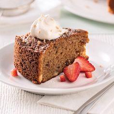 Gâteau au café et pacanes - Desserts - Recettes 5-15 - Recettes express 5/15 - Pratico Pratiques