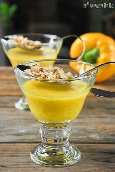 Sopa fría de pimientos y estragón - L'Exquisit