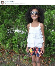 Chen Burkett girly dress