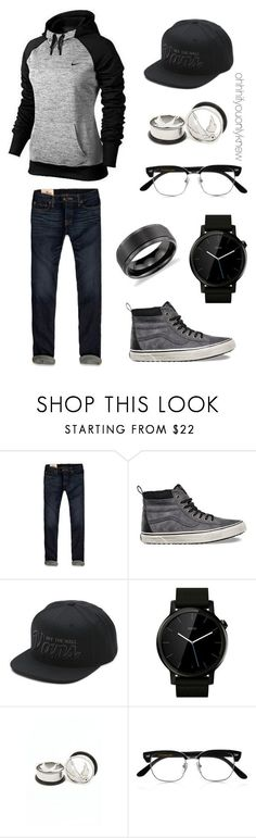 Untitled #231 by ohhhifyouonlyknew on Polyvore featuring Vans, Motorola, Blue Nile, Hollister Co., Cutler and Gross, NIKE, men's fashion and menswear