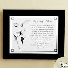 My Mommy's Embrace & My Grandma's Embrace Prints & Jewelry Boxes Personalcreations.com Starting at $29.99