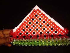 Beaded Bags, Beaded Jewelry, Beaded Crafts, Diy Crafts, Pen Holders, Projects To Try, Beads, Youtube, Decor