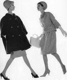 Fashion shots taken by Jerry Schatzberg in the 1950s and 1960s.