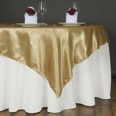 BalsaCircle x Embossed Satin Table Overlays - Wedding Party Reception Catering Linens Dinner Banquet Event Decorations Champagne Wedding Decorations, Spring Wedding Decorations, Spring Wedding Colors, Table Decorations, Wedding Catering Prices, Elegant Table Settings, Table Overlays, Floral Tablecloth, Reception Party