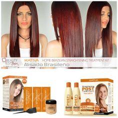 Kativa- Brazilian straightening treatment.. Για μαλλιά λεία και ανθεκτικά με την δύναμη της #κερατίνης!    ❤ Find Here ➡ http://www.beautytestbox.com/catalogsearch/result/?q=Straightening #beautytestbox #beautytestboxeshop #beautybloggers #beauty #happy #care #BeautyGreece #hairbeauty #love #like La Rou Hair Cosmetics Ioanna Lampropoulou #bestseller #musthave #hair #GreekEshop #hairstyling #hairstraightening #homekit #BrazilianTreatment #AlisadoKeratin #Kativa