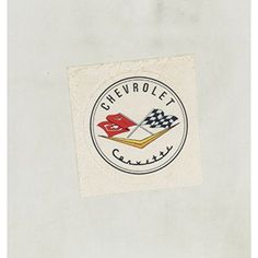 1950's Chevrolet Corvette Original Sticker         * Check out this great product. (This is an affiliate link) #EntertainmentCollectibles