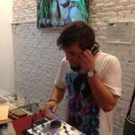 Alberto FerGon animó toda la noche con su sesión Indie Dance