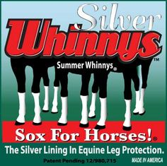 Equine Pastern Dermatitis: The reason these socks work: 1. The silver  inhibits the growth of bacteria and fungi in the socks.  You put the cleanest wound/sore protection you could ask for on your horse's legs.   2. The yarn pulls moisture from the skin keeping the skin dry and cool.  3. Air reaches the skin. 4. The socks stop insects that pass disease from one animal to another.