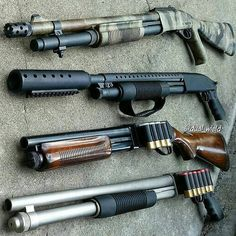Shotguns for home defense - and nice to look at too.