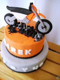 Tort urodzinowy: Motocykl KTM Off Road