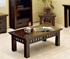 Solid Wood Kuber Coffee Table