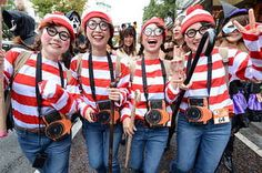 15 Ways To Win Halloween With A Group Costume