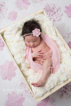 Sweet newborn baby girl