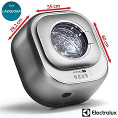Lavadora Automática Electrolux Mini Silent 3 kg