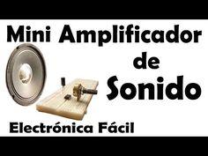 Mini Amplificador De Audio Casero (muy fácil de hacer) - YouTube