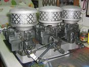 Vintage Speed Intake Adapter with Rochester Hot Rods, Barrel, Chandelier, Ceiling Lights, Vintage, Home Decor, Candelabra, Decoration Home, Barrel Roll