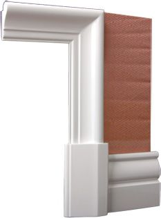 FN skirting Classic Architraves | French Architectural and Decorative Mouldings, French Wall Skirting Boards, French Architraves
