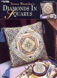 Diamond in a square pillow