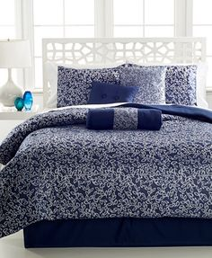 Alena 7 Piece Queen Jacquard Comforter Set