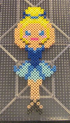 Ballerina perler beads by Flood7585 on DeviantArt