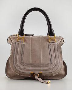 435f197d26 V18V5 Chloe Marcie Fringe Shoulder Bag