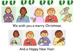 The well-known Christmas song with British Sign Language (BSL) signs to support the words for BSL and Sign Supported English (SSE) users. Colourful and fun. Sign Language Songs, Sign Language Basics, Sign Language Chart, Sign Language For Kids, Sign Language Alphabet, Sign Language Interpreter, British Sign Language, Learn Sign Language, Speech And Language