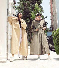 Modern Hijab Fashion, Workwear Fashion, Abaya Fashion, Muslim Fashion, Kimono Fashion, Modest Fashion, Fashion Outfits, Women's Fashion, Rain Fashion