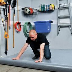 1000 id es sur rev tement de plancher garage sur pinterest - Revetement pour garage ...