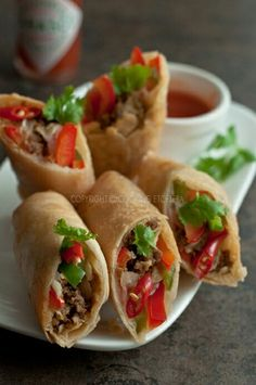 Noodle Street special spring rolls Popular in Hong Kong, Guangzhou and ...