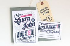 Invitations - I think this is the style we are going to use - yay!