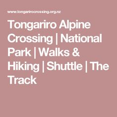 The Tongariro Alpine Crossing in Tongariro National Park is heralded as the best one-day trek available in New Zealand, while others say it tracks among the top ten single-day treks in the world. Walks, National Parks, Track, Hiking, Runway, Walking, Trucks, Running, Track And Field