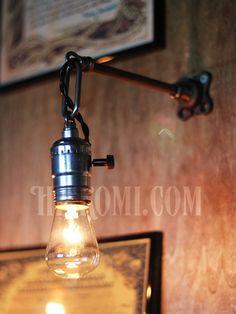 商品名USAヴィンテージチェーンリング付工業系ウォールランプ兼用ペンダントライトA/アンティーク照明ブラケット商品番号WOL-14-0179重さ(梱包資材を含む)1kg材質・ソケット アルミ製…