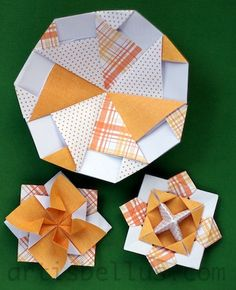 Fun Origami: Spinning Tops