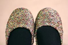 Pretty, sparkly shoes!