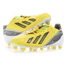 new style 3928a 940c4 adidas   F50 ADIZERO TRX FG Leder miCoach Bundle Fußballschuhe Herren    vivid yellow-black-green zest   VAOLA