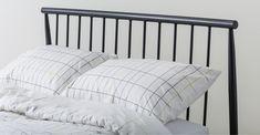 MADE Essentials Penn Kingsize Bed, Black | MADE.com